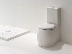 Close coupled ceramic toilet DUNIA | Close coupled toilet - GSG Ceramic Design