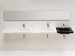 Countertop wall-mounted ceramic washbasin RACE | Washbasin - GSG Ceramic Design