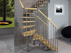 Escalera abierta modular en kit TECH CE - RINTAL