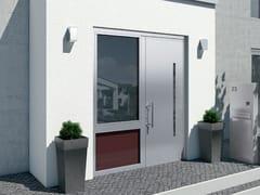 Porta d'ingresso termoisolante in alluminioSchüco ADS 112.IC - SCHÜCO INTERNATIONAL ITALIA