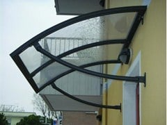 - Aluminium door canopy ENEA - KE Outdoor Design