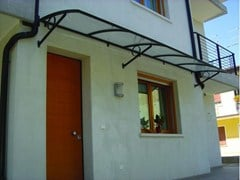 - Aluminium door canopy ELENA - KE Outdoor Design