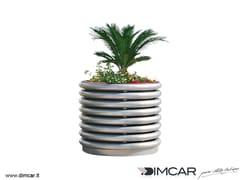 - Metal Flower pot Fioriera Azalea - DIMCAR