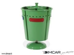 - Outdoor metal waste bin for waste sorting Cestone Pirro - DIMCAR