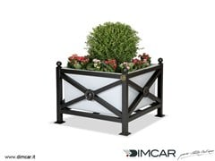 - Metal Flower pot Fioriera Orchidea Maxi - DIMCAR