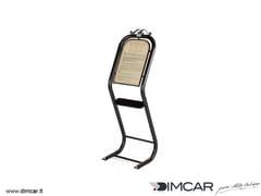Leggio per spazi pubblici in acciaio zincatoLeggio - DIMCAR