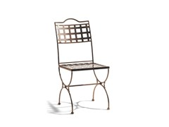 - Wrought iron garden chair VERSAILLES | Garden chair - MANUTTI