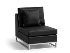 - Sled base garden armchair ZENDO | Garden armchair - MANUTTI