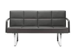 - 2 seater leather sofa GRATO | 2 seater sofa - Brunner