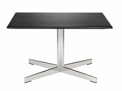 - Square coffee table with 4-star base GRATO | Coffee table with 4-star base - Brunner