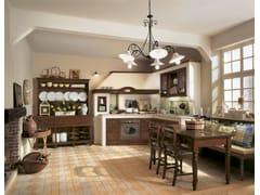 - Classic style walnut kitchen IL CANTO DEL FUOCO   Walnut kitchen - Martini Mobili