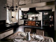 - Lacquered linear kitchen IL CANTO DEL FUOCO   Lacquered kitchen - Martini Mobili