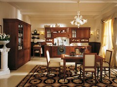 - Walnut fitted kitchen AIDA | Walnut kitchen - Martini Mobili