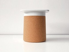 - Cork stool / coffee table DEGREE | Cork coffee table - Kristalia