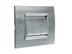 - Stainless steel wall plate LUX | Stainless steel wall plate - GEWISS