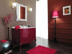 - Lacquered vanity unit with doors NARCISO 2 - LEGNOBAGNO