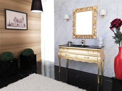 - Wooden vanity unit VOGUE 4 - LEGNOBAGNO