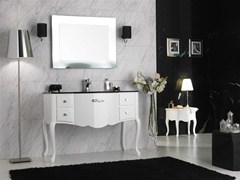 - Lacquered vanity unit with drawers NOVECENTO 4 - LEGNOBAGNO