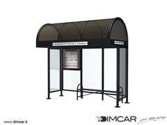 - Metal porch for bus stop Pensilina Modena p.95 - DIMCAR