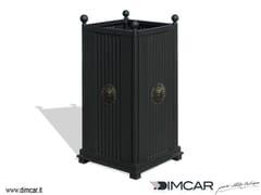 - Metal waste bin Cestone Sassari - DIMCAR