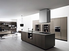 - Fitted kitchen with island KALEA - COMPOSITION 3 - Cesar Arredamenti
