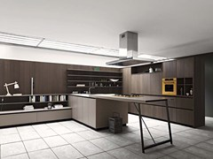 - Kitchen with island KALEA - COMPOSITION 7 - Cesar Arredamenti