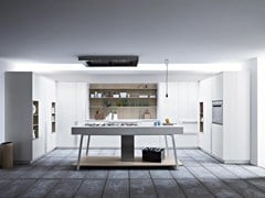 - Fitted kitchen with island KALEA - COMPOSITION 4 - Cesar Arredamenti