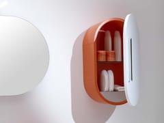 - Single wall cabinet with doors FLUX_US 19 | Wall cabinet - LASA IDEA