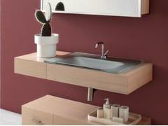 - Wall-mounted vanity unit with drawers MARIPOSA 16 | Vanity unit - LASA IDEA
