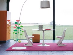 - Solid-color polyamide rug POODLE 1480 - OBJECT CARPET GmbH
