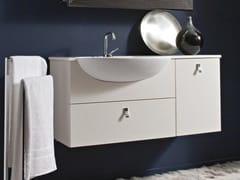 - Wall-mounted vanity unit COMPOS 184 - LASA IDEA