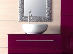 - Countertop round ceramic washbasin CIOTOLA 46 - LASA IDEA