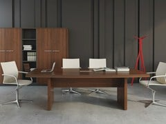 - Rectangular meeting table STATUS | Meeting table - MDD