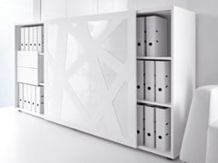 - Office storage unit with sliding doors STANDARD | Office storage unit - MDD