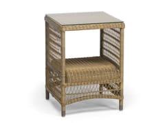 - High Rectangular garden side table MALIBU | High garden side table - MANUTTI