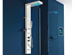 - Multifunction shower panel for chromotherapy LIGHT PLUS | Shower panel - GRUPPO GEROMIN