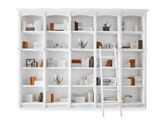 - Provencal style wooden bookcase ENGLISH MOOD | Provencal style bookcase - Minacciolo