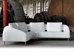 - Corner sectional leather sofa VOL DE REVE | Sofa - LEOLUX
