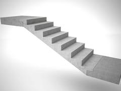 Vorgefertigte Offene Treppe aus Beton Treppen aus Stahlbeton - PROGRESS