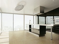- Porcelain stoneware wall/floor tiles with concrete effect VELVET GROUND - Ceramiche Refin