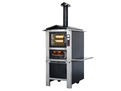 - Wood-fired stainless steel outdoor oven PREMIUM - Sunday