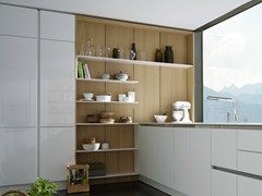- Wooden boiserie / wall shelf FLOATING SPACES S2-LM - SieMatic