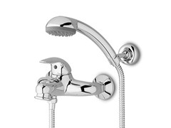 - 2 hole shower mixer with hand shower ELFO | Shower mixer with hand shower - ZUCCHETTI