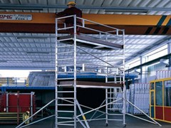 - Mobile scaffolding for construction site TEMPO TECH S - SVELT