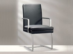 - Cantilever high-back leather chair D13-42 | High-back chair - Hülsta-Werke Hüls