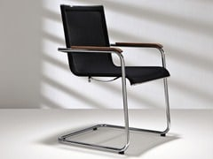 - Cantilever mesh chair with armrests D18 PLUS | Chair with armrests - Hülsta-Werke Hüls