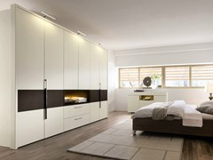 - Lacquered wardrobe with drawers ELUMO II | Lacquered wardrobe - Hülsta-Werke Hüls