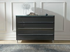 metis plus walnut chest of drawers by h lsta werke h ls. Black Bedroom Furniture Sets. Home Design Ideas