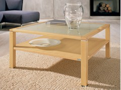 - Square maple coffee table for living room CT 10 | Maple coffee table - Hülsta-Werke Hüls
