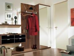 - Wall-mounted walnut hallway unit TAMETA   Walnut hallway unit - Hülsta-Werke Hüls